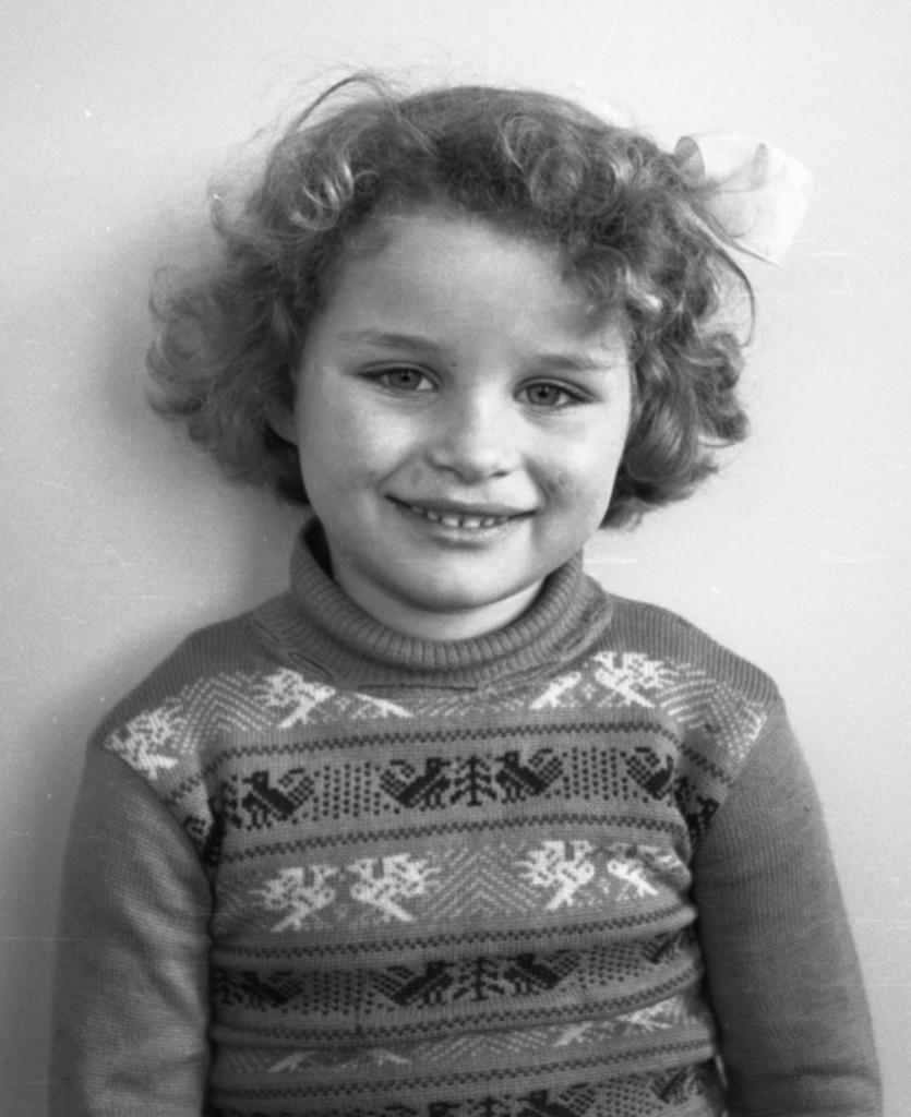 Carla, 4 jaar. Fotograaf: mijn vader Jaap Rus