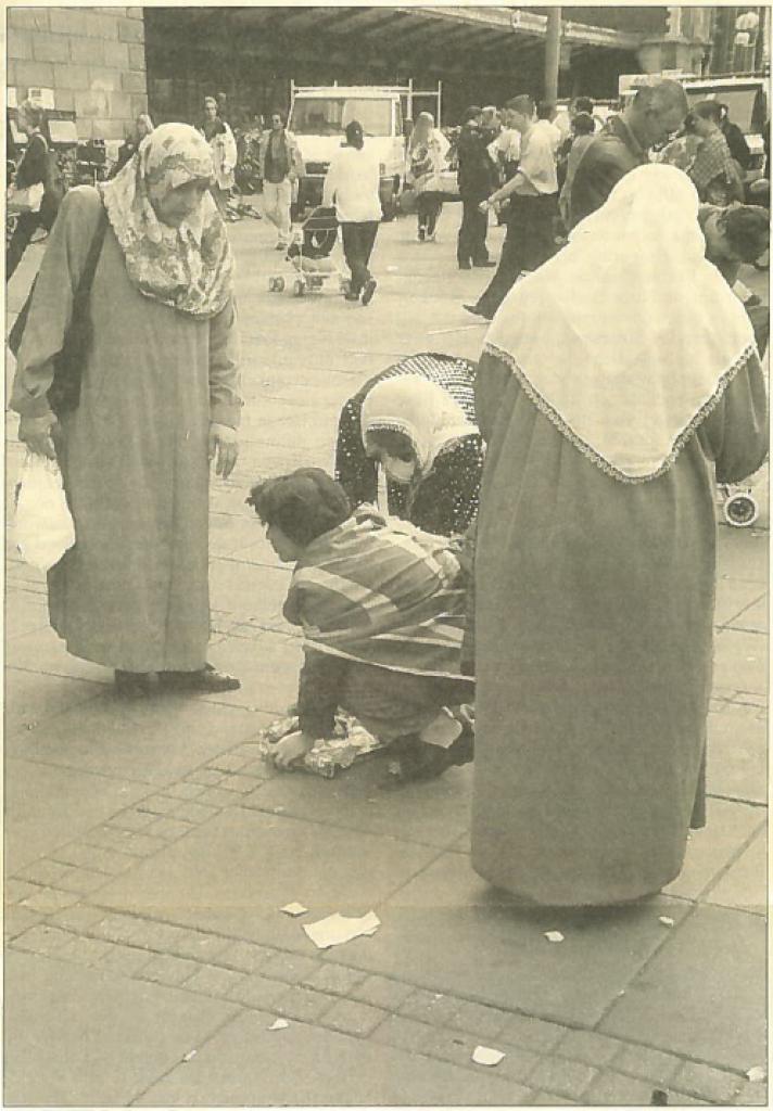 Marokkaanse moeder te machteloos